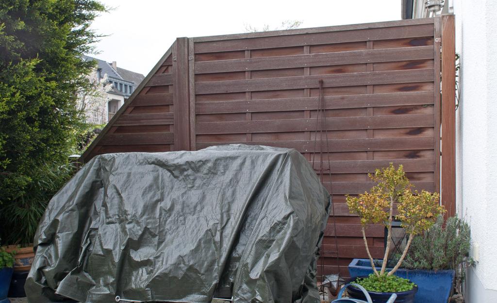 Beliebt Bevorzugt Garten-Trennmauer | selbst.de #DP_73