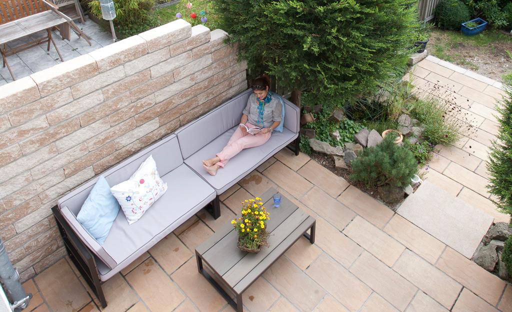 Atemberaubend Garten-Trennmauer | selbst.de &BW_97
