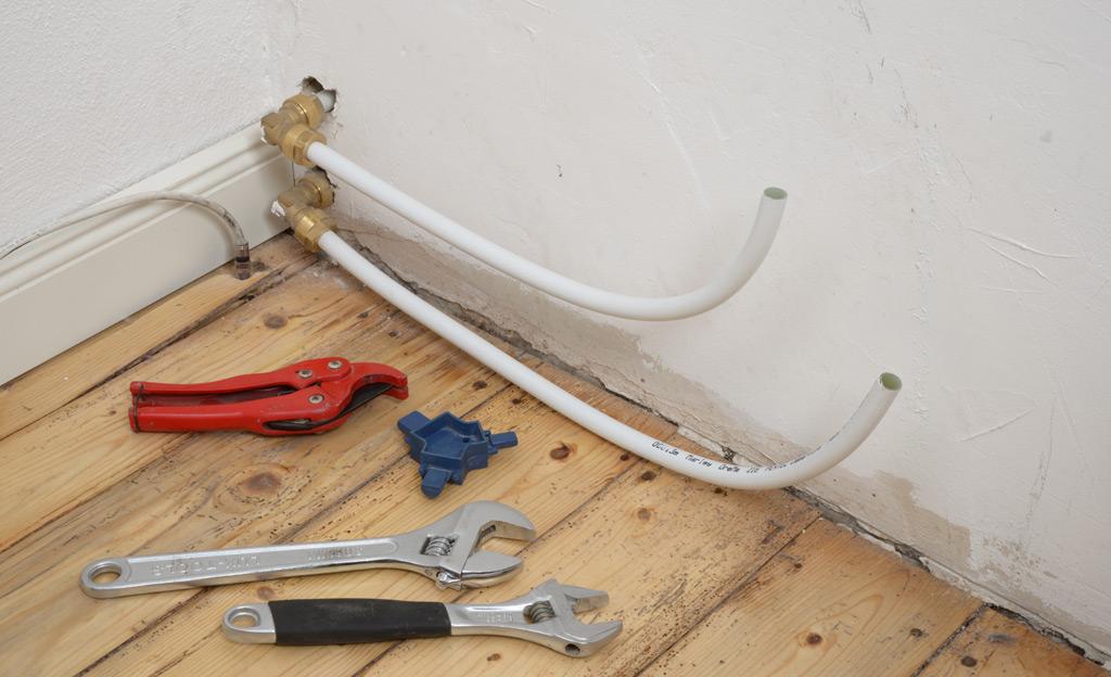 Favorit Heizungsrohre verlegen | selbst.de VV25