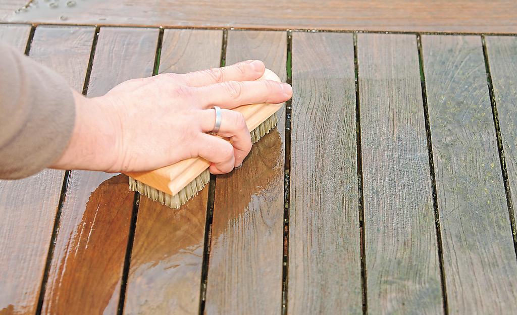 Favorit Holzterrasse reinigen   selbst.de DF96