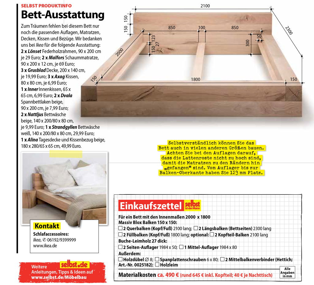 balkenbett. Black Bedroom Furniture Sets. Home Design Ideas