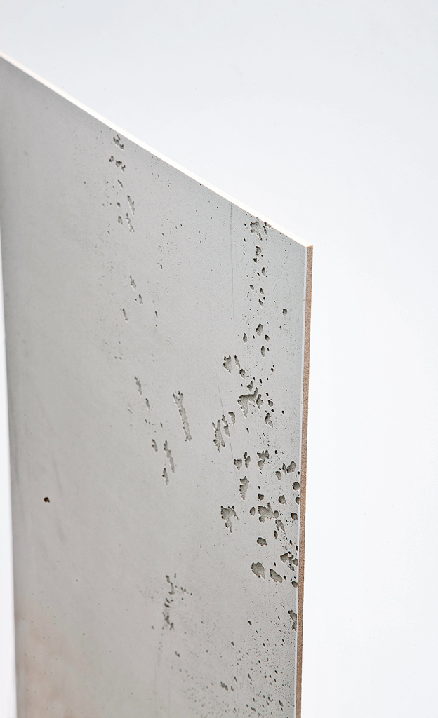Bauplatten in Betonoptik