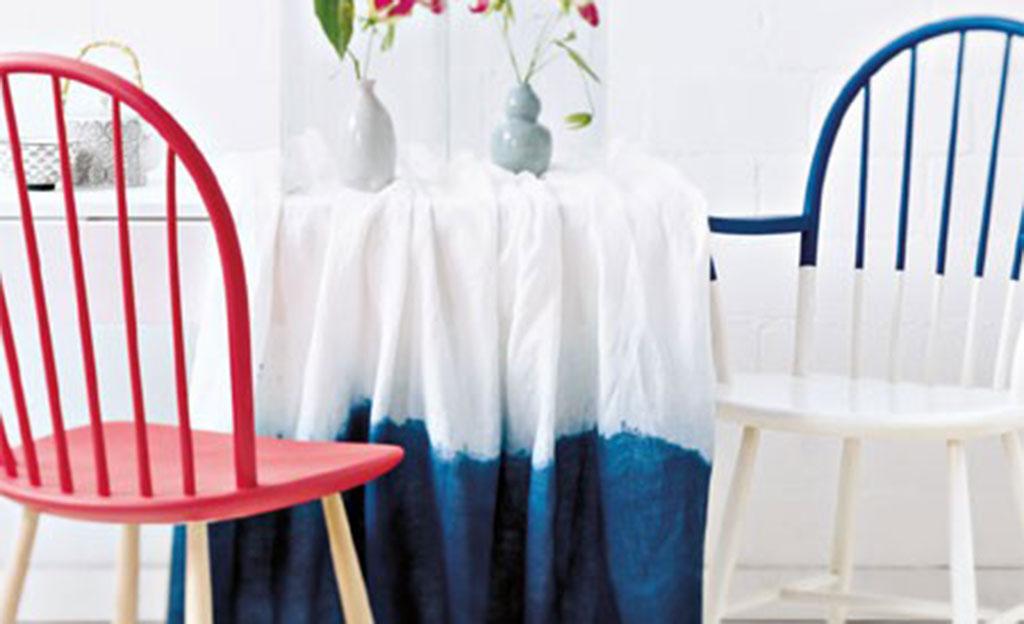 Dip-Dye Stuhl