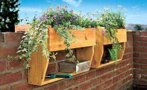 Blumenkasten selber bauen - Fensterbank selber bauen ...
