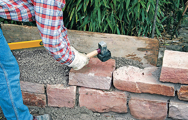 gartenmauer selber bauen selbstde