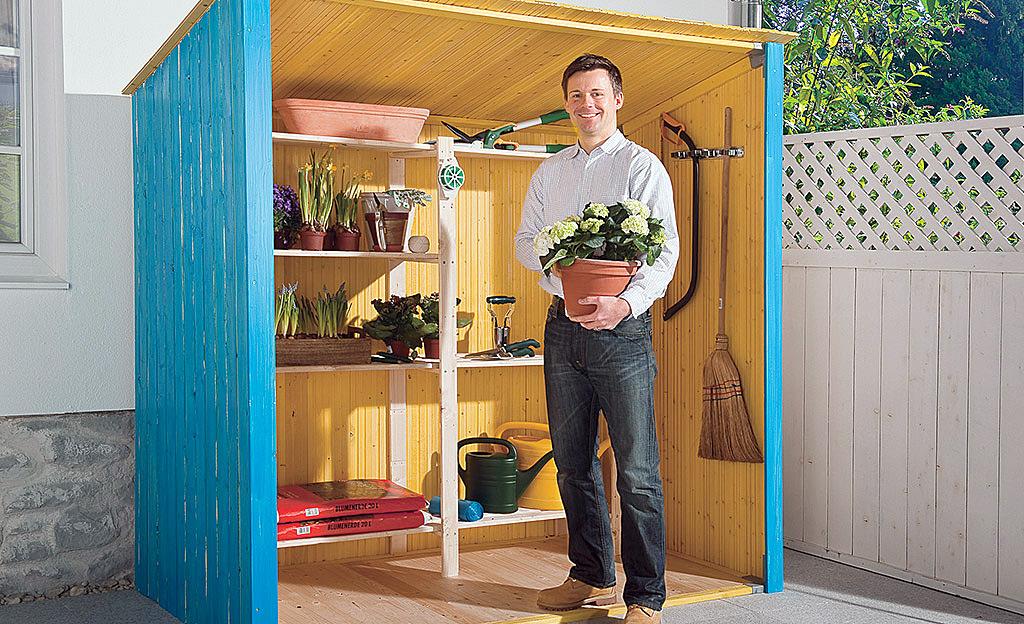 Gartenschrank Outdoor Küche : Gartenschrank selbst