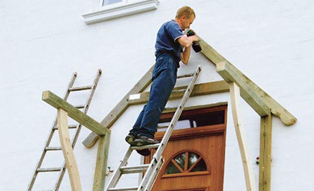 Hervorragend Hauseingang selber bauen | selbst.de UU02