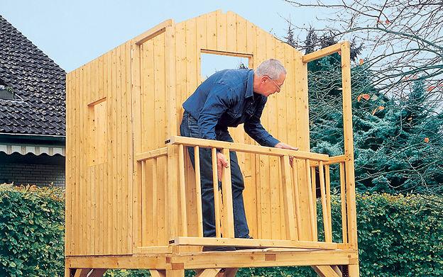 Klettergerüst Selbst Gebaut : Klettergerüst selber bauen selbst.de
