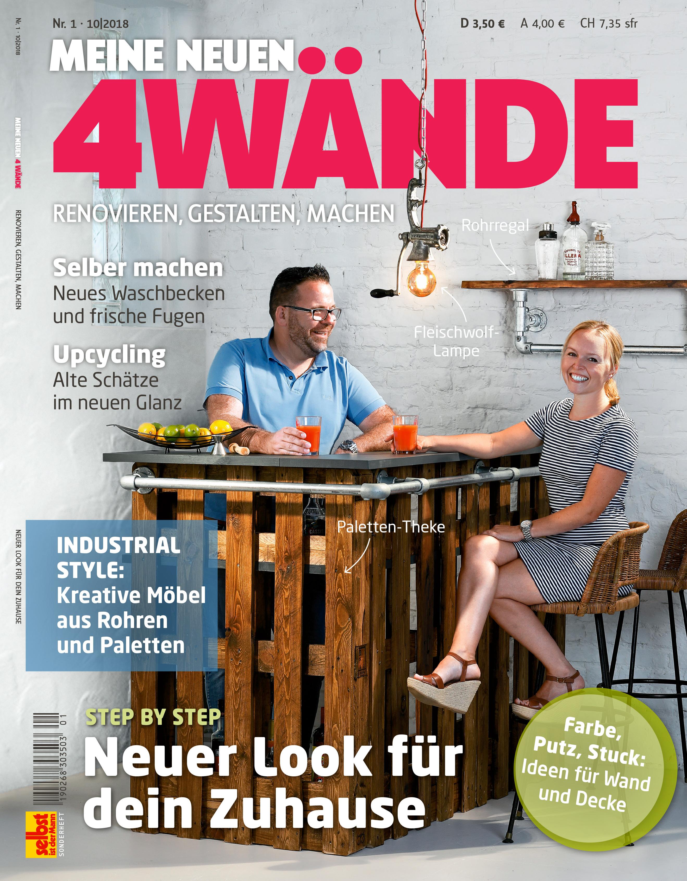 aktuelles heft: meine neuen 4 wände | selbst.de