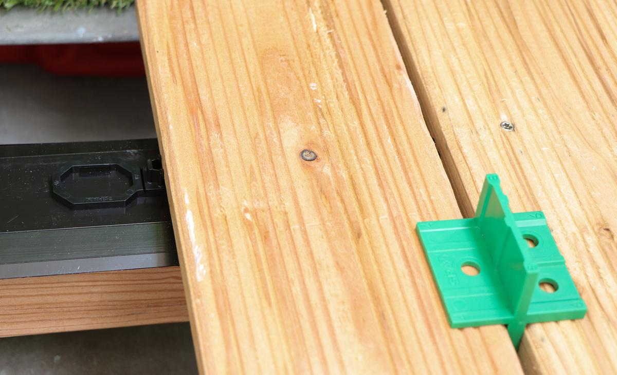 Holzboden Balkon