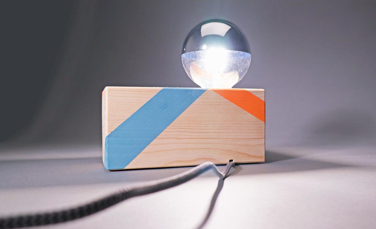 Nachttischlampe modern