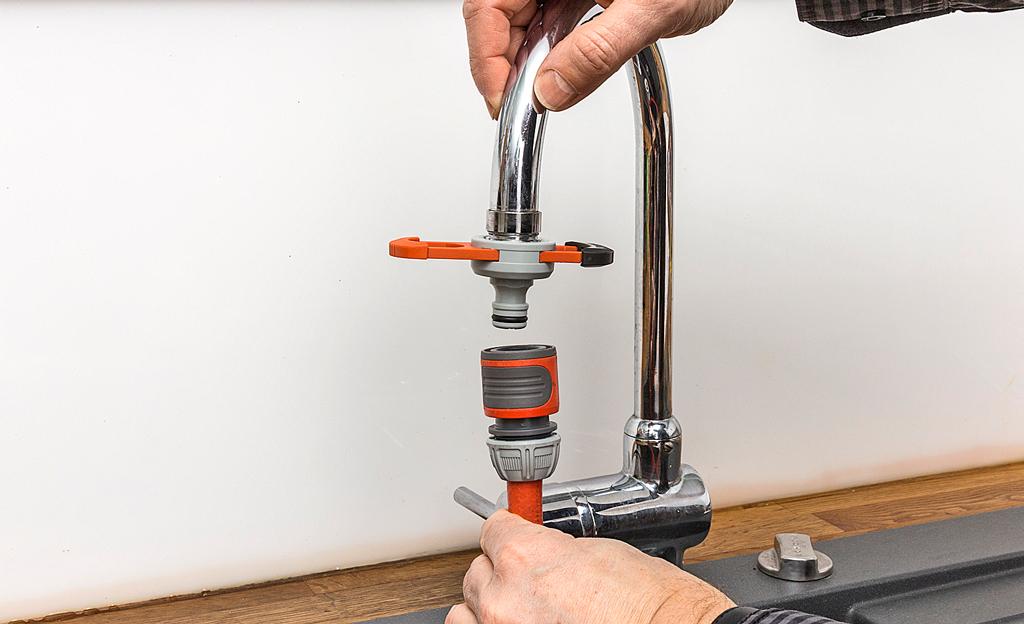 Wasserhahn Anschluss Hahnverbinder Anschluss Adapter Kupplung Garten Küchen