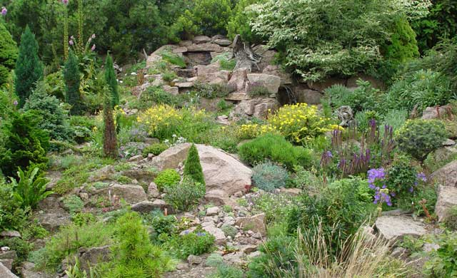 Garten am hang anlegen
