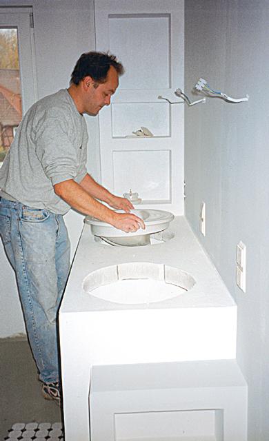 Waschplatz selber bauen – Eckventil waschmaschine