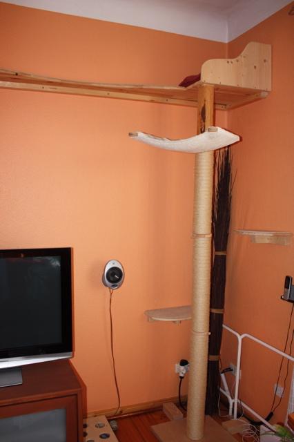 bauanleitung katzenkratzbaum selber bauen bauplan auf. Black Bedroom Furniture Sets. Home Design Ideas