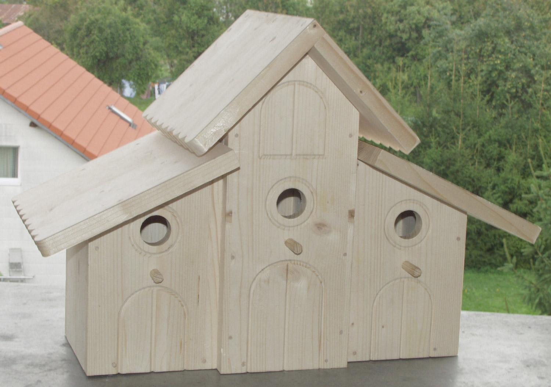 Bauplan Vogelhaus