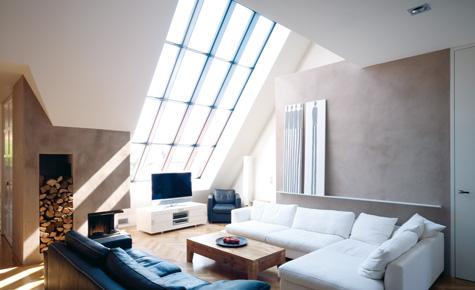 Modernes Loft: Der Wohnraum