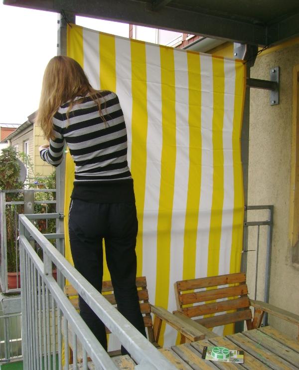 Sichtschutz Auf Dem Balkon | Selbst.de Balkon Sichtschutz Selber Machen