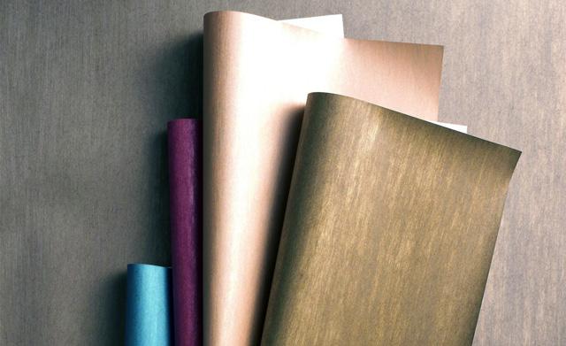 Tapeten Metallic Effekt : tapeten trends 2010 glänzende licht reflektierende tapeten akzentu