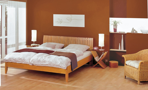 Schlafzimmer Mit Farbe Gestalten | Farben & Tapeten | Selbst.de Zimmer Farblich Gestalten