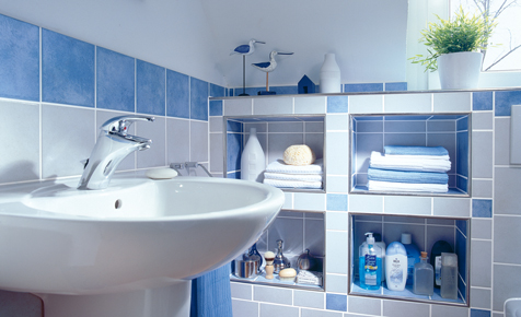 bad ablage schafft zus tzlichen stauraum k che bad. Black Bedroom Furniture Sets. Home Design Ideas