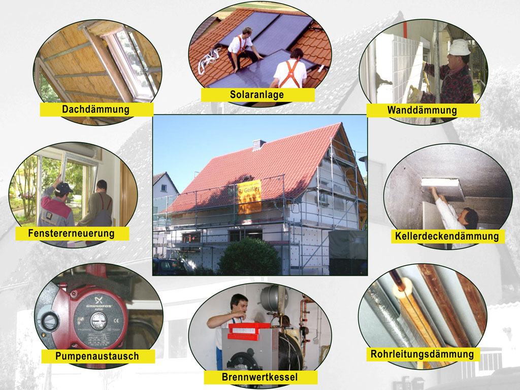 Haussanierung: Richtige Reihenfolge für die Renovierung