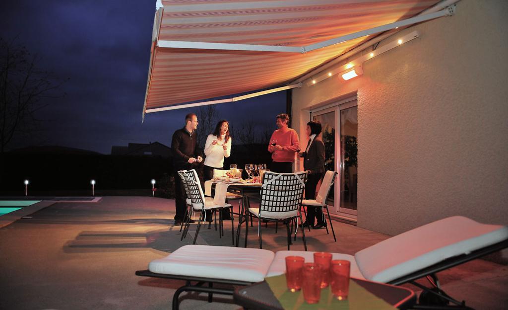 Heizstrahler für Balkon Terrasse & Balkon