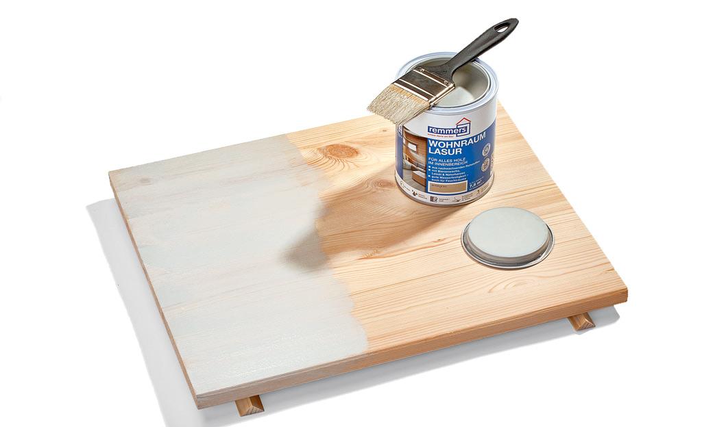 Holzfarbe Weiß holzlasur für kindermöbel selbst de
