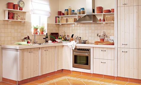 Landhausküche aus Porenbeton  Küche, Bad & Sanitär  selbst.de