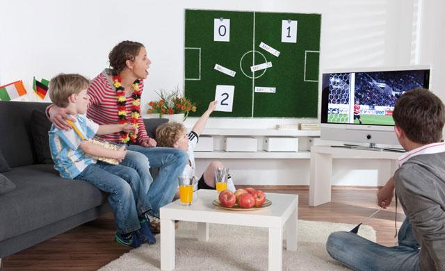 Fußball-Punkte-Tafel bauen