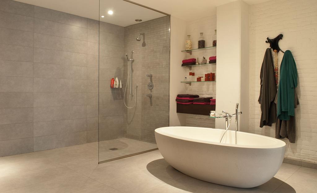 walk in dusche selbstde - Trennwand Dusche Kunststoff