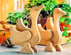 Holz-Gänse