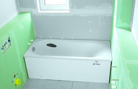 Fabulous Badewanne einbauen | selbst.de OS38