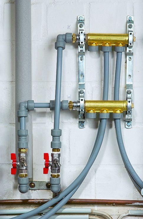Häufig Wasserleitung verlegen | selbst.de RA15