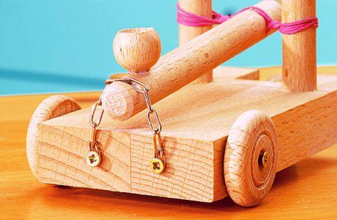 ritterburg: figuren & waffen bauen | holzarbeiten & möbel | bild 3,