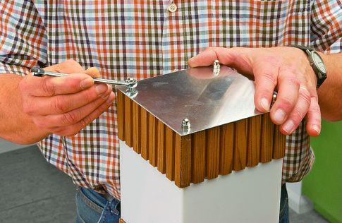 Design-Leuchte aus Plexiglas bauen: Schritt 15 von 19