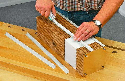 Design-Leuchte aus Plexiglas bauen: Schritt 17 von 19