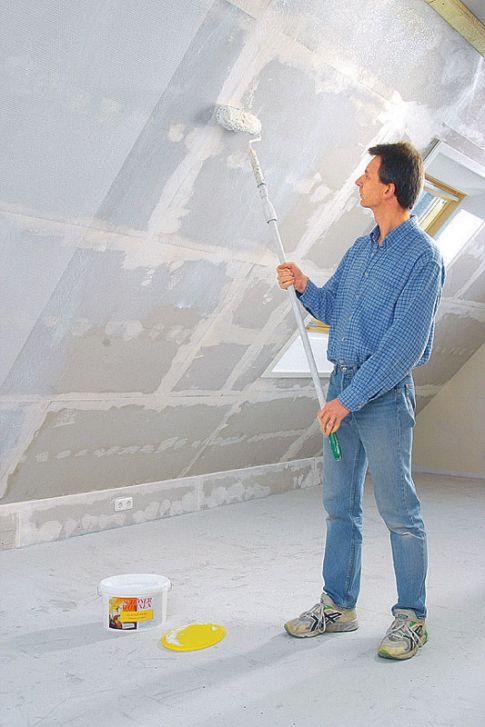 Tapezieren mit Glasfaser-Tapete