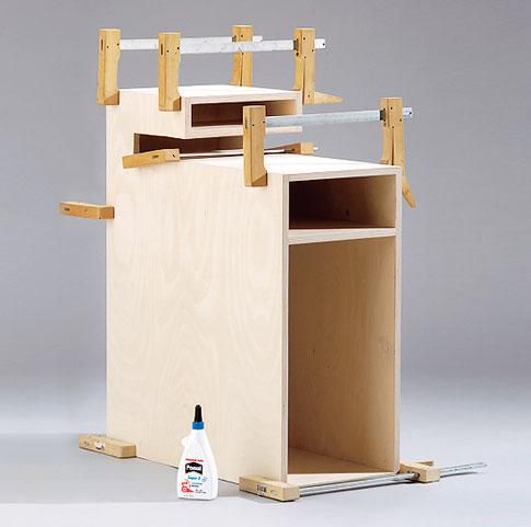 PC-Box aus Multiplexholz bauen: Schritt 6 von 7
