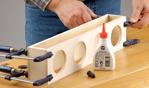 gelkerzen halter selbst gebaut holzarbeiten m bel. Black Bedroom Furniture Sets. Home Design Ideas