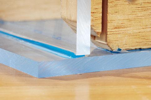 Plexiglasplatten verkleben: Schritt 8 von 8