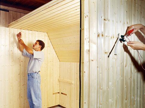 Sauna Fußboden Dämmen ~ Sauna in der dachschräge selbst