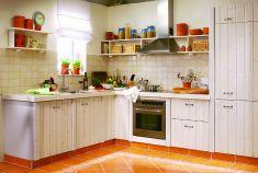 eine selbstgebaute küche im edlen landhausstil | küche, bad ... - Küche Landhausstil Selber Bauen