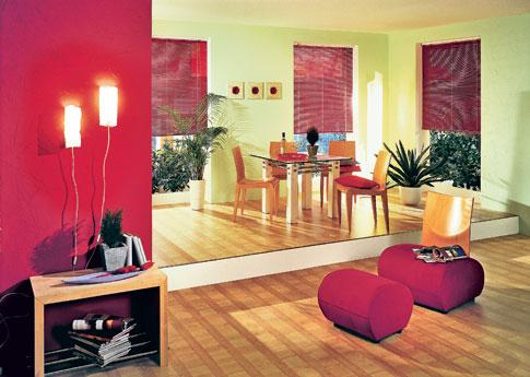 Selbst ist die frau heimwerken mit farbe wohnen deko for Farbige wandfarbe