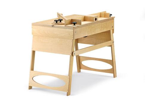 Bauplan: Klappbarer Werktisch