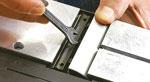 Messerwechsel am Elektrohobel