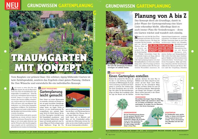 Grundwissen Gartenplanung