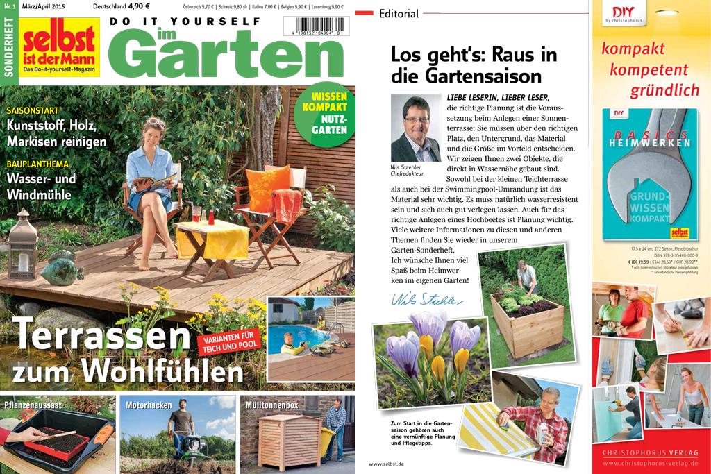 Sonderheft Do it yourself im Garten März / April 2015