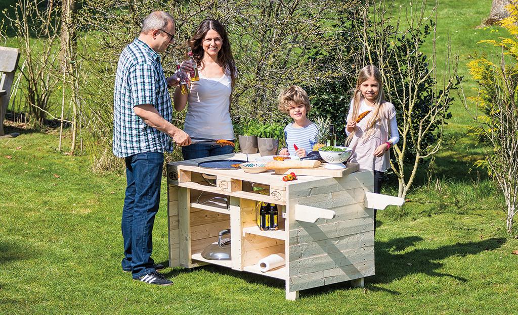 paletten grillwagen. Black Bedroom Furniture Sets. Home Design Ideas