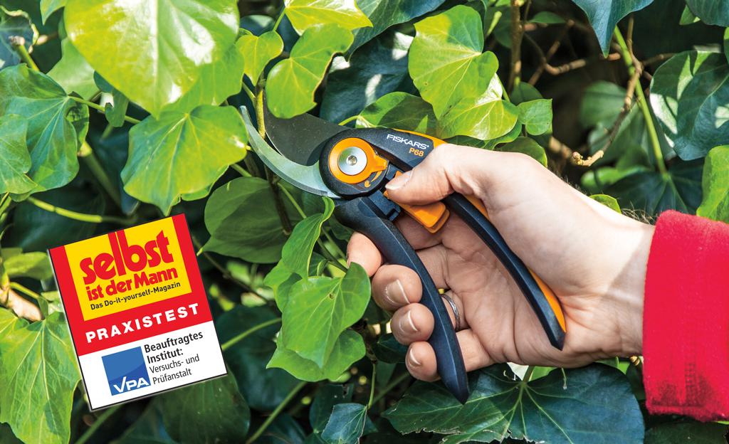 Test Gartenscheren